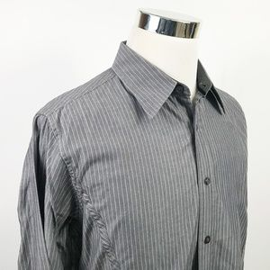 Guess by Marciano Mens Large Causal Button Front
